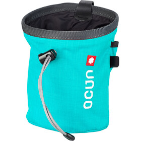 Ocun Push + Belt Bolsa de tiza, blue/grey